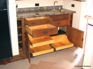 Antique Buffett - Crossroads Woodwork