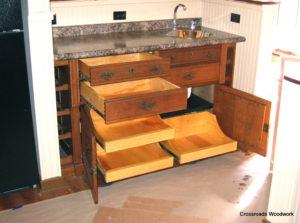 Antique Buffett - Crossroads Woodwork