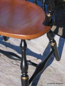 Captain's Chair detail-sample restoration