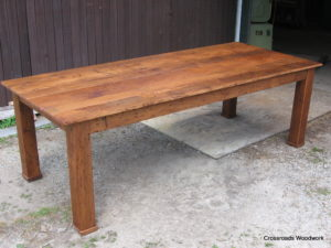 Chestnut Table - Crossroads Woodwork