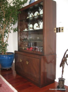 China Cabinet - Crossroads Woodwork