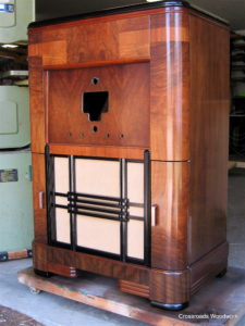 Large Radio Cabinet - sample refinish