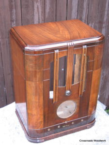 Table Radio Cabinet/Crossroads Woodwork