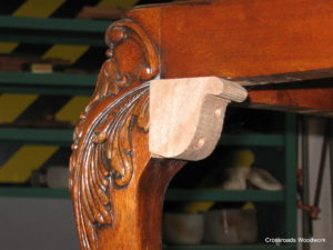 Chair Carving Replacement - Crossroads Woodwork