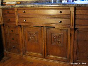 Custom Cabinet Door - Crossroad Woodwork