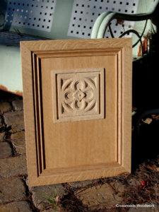 Custom Cabinet Door - Crossroads Woodwork