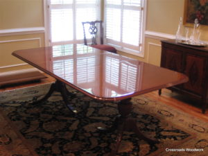Formal High Gloss Table - Crossroads Woodwork