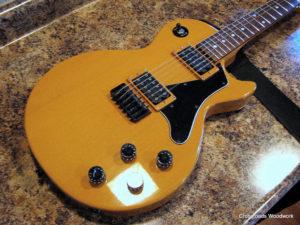 Fun Personal Project - guitar detail-Crossroads Woodwork
