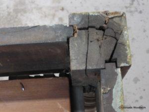 Table Base Repair - Crossroads Woodwork